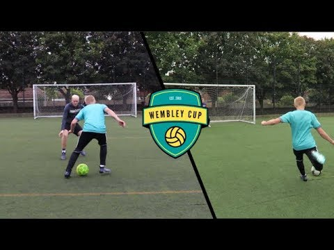 WEMBLEY CUP FOOTBALL CHALLENGES vs THEO BAKER