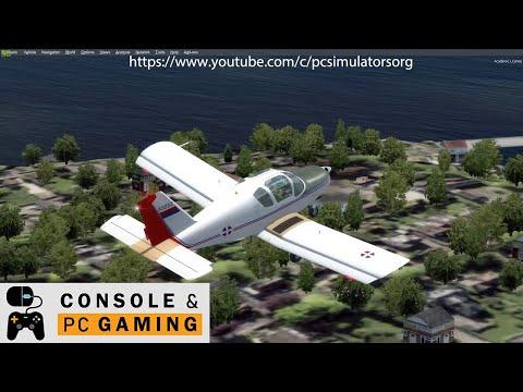 Flight Simulator Utva 75 small aircraft