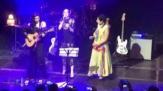 "Mon Laferte , Leonor Warling y Sofia Viola "" la llorona "" Madrid 8-11-2018"