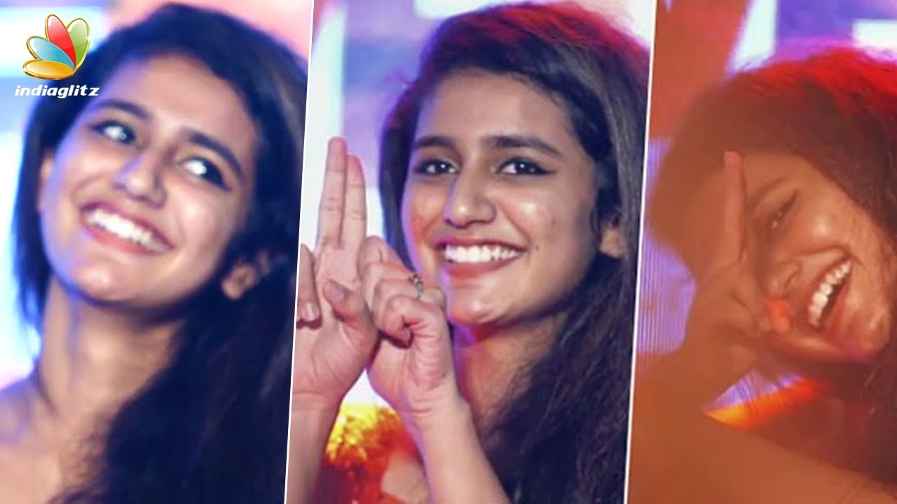 ആരാധകരെ മയക്കിയ ആ ഗൺ കിസ്സ് ലൈവ്ആയി   Oru Adar Love Promotion   Priya Prakash Varrier