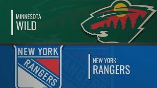 миннесота - Нью-Йорк Рейнджерс  НХЛ обзор матчей 25.11.2019  Minnesota Wild vs New York Rangers