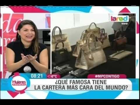 Famosa chilena tiene una de las carteras m s caras del for La alfombra mas cara del mundo
