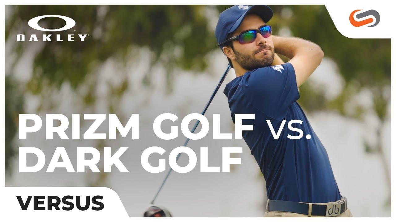 edfa3bb19d Oakley Prizm Golf vs Dark Golf Lenses