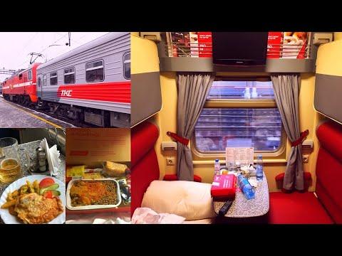 Trans-Siberian Railway Winter Journey - Part 8: Ekaterinburg - Moscow On TKC Premium Train № 059Е