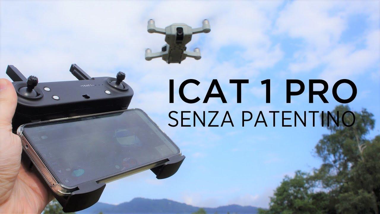 IL MIGLIOR DRONE SENZA PATENTINO SOTTO AI 100€? SMRC ICAT1 PRO - RECENSIONE PROVA IN VOLO