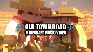 OLD TOWN ROAD Minecraft Music Video