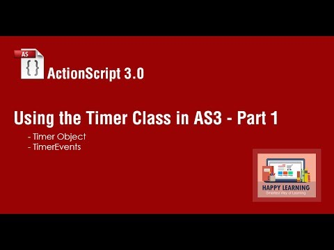 How To Create A Flash Countdown Timer Using ActionScript 3.0 - Part 1