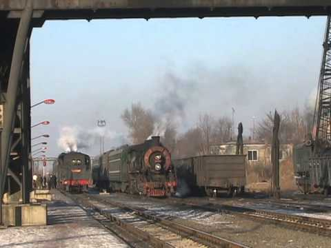 Steam Of Tiefa Coal Mine Railway China(Jan.2008) 2 中国・鉄法炭鉱鉄道の蒸気機関車(2008年1月) 2