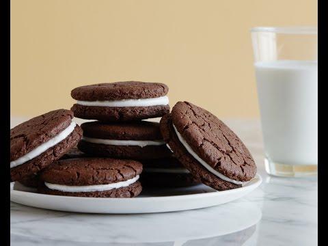 Homemade Oreo Cookies - Snack Recipes - Weelicious