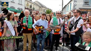 The Fields Of Athenry  - World's Biggest Street Performance by Athenry Town \u0026 KamilFilms 2019