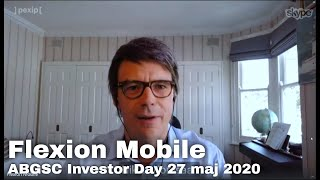 Flexion Mobile - ABGSC Investor Day 27 maj 2020