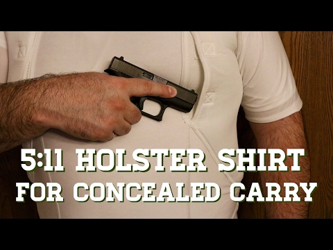 5:11 Tactical Holster Shirt : Concealed Carry Shirt