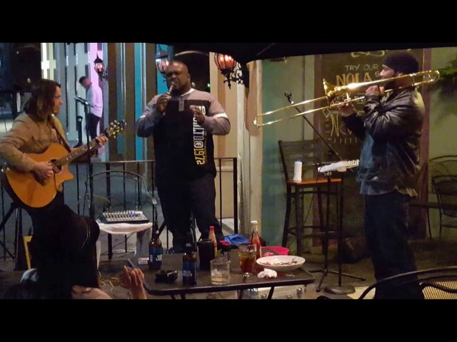 Wyatt & Dan ft. Alvin Purnell & Reggie B Trombone Love @ Parish on Cherry - Macon, GA  2/17/17
