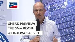 Sneak Preview: The SMA booth at Intersolar 2018