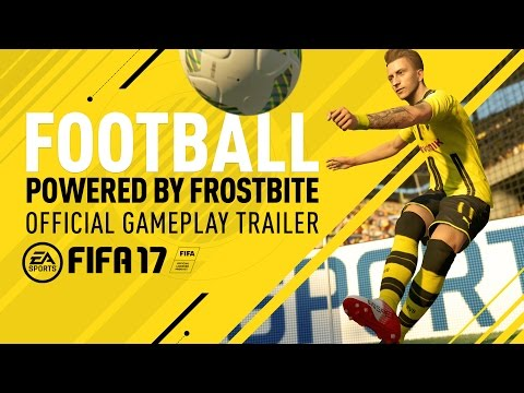 FIFA 17 - Futbol, con el motor Frostbite tráiler oficial