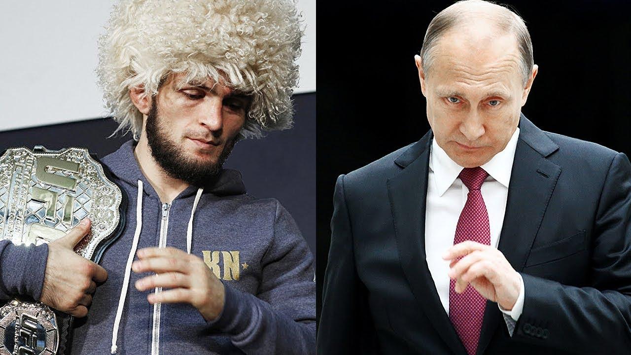 Что президент Путин сказал Хабибу / Встреча Путина и Хабиба после боя против Конора