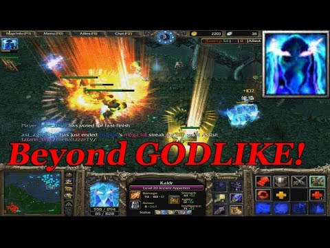 DOTA 1 - Ancient Apparition BEYOND GODLIKE   SUPPORT GAMEPLAY