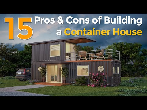 Top 15 Pros and Cons of Building a Shipping Container House in 2017