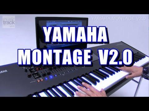 YAMAHA MONTAGE V2.0 Demo & Review
