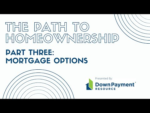 The Path To Homeownership (Part 3) - Mortgage Options