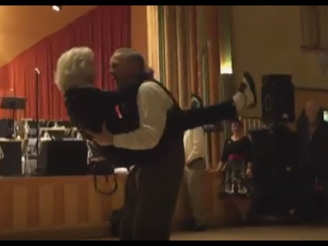 93-Year Old Walks on To The Dance Floor and Watch What Happens. Jean Veloz Does It Again!