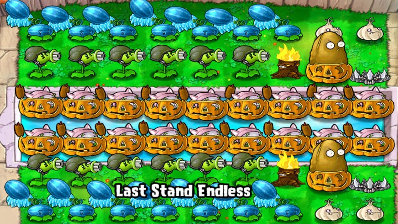 Plants vs Zombies – Quick Play Last Stand Endless (Android Gameplay)
