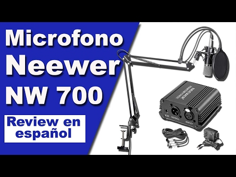 Review Microfono Neewer NW700 Kit completo con Phantom Power