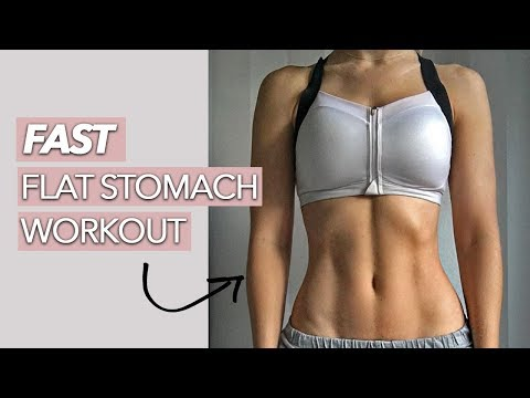 Fast Toned Abs (9 MINUTES)