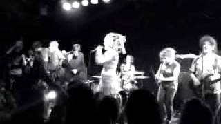 The Slits @ the Masque 08/10/09 with Stu Morris and others on backi...