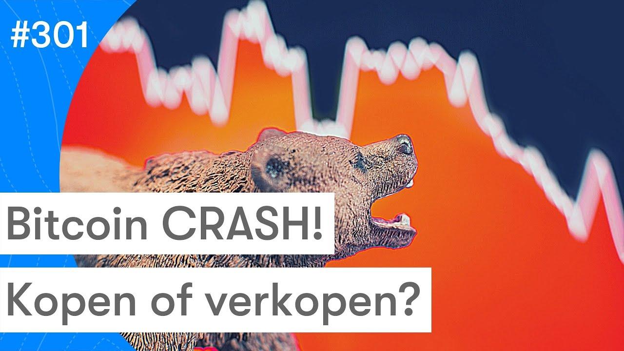 Bitcoin koers zakt in elkaar | Altcoins houden geen stand | Wat nu? | BTC Nieuws vandaag | #301