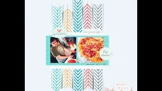 Scrapbooking Proces: Pictou County Pizza