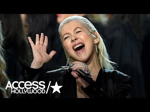 Christina Aguilera's Whitney Houston Tribute At AMAs Is Breathtaking | AMAs 2017 | Access Hollywood