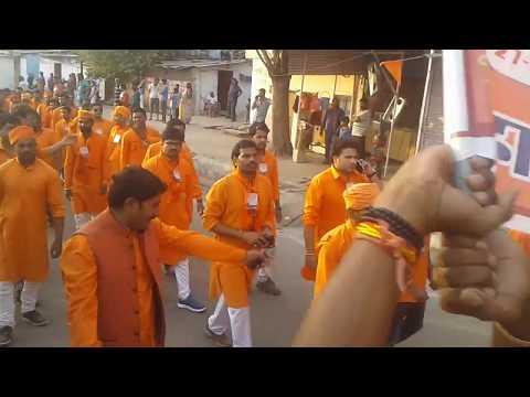 विश्व हिंदू परिषद बजरंग दल राष्ट्रीय अधिवेशन 2017 भोपाल शोभा यात्रा