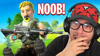Download Typical Gamer REACTS to his FIRST GAME of Fortnite Battle Royale!