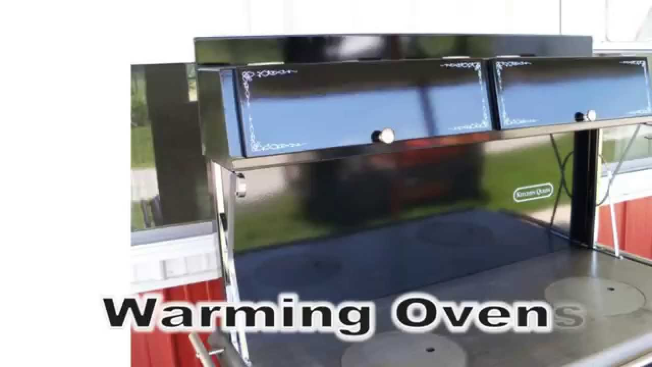 Kitchen Queen 480 wood cook stove - Kitchen Queen 480 Wood Cook Stove - YouTube