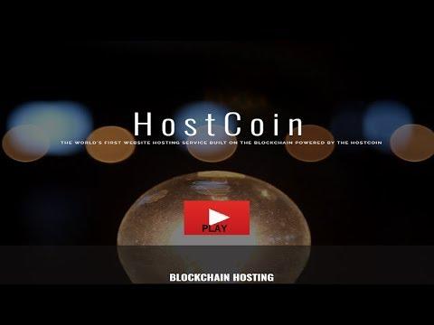 HOSTCOIN - HOSTING SERVICE BUILT ON THE BLOCKCHAIN