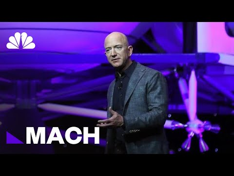 Jeff Bezos Unveils Blue Origin's New 'Blue Moon' Lunar Lander   Mach   NBC News