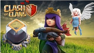 Clash of Clans QUEEN WALK FARMING DARK ELIXIR FOR TH9,10,11