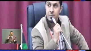 تقرير تعالي الاصوات الرافضة لاتفاق الصخيرات حلقة 18 12 2015 عبر قناة وطن الكرامة  xmp
