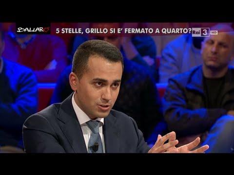 Faccia a faccia con Luigi Di Maio - Ballarò 12/01/2016