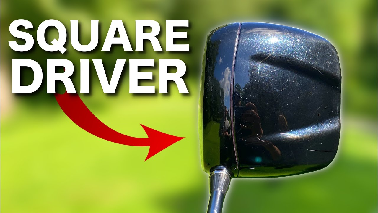 PLAYING WITH A SQUARE DRIVER - Followers choose my golf clubs!