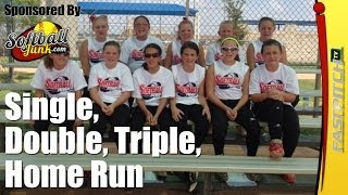 Softball Cheers: Single Double Triple Home Run I Fastpitch TV