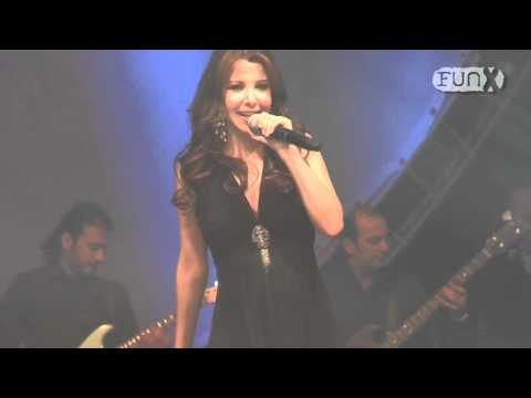 Nancy Ajram and Fadl Shaker live in The Netherlands