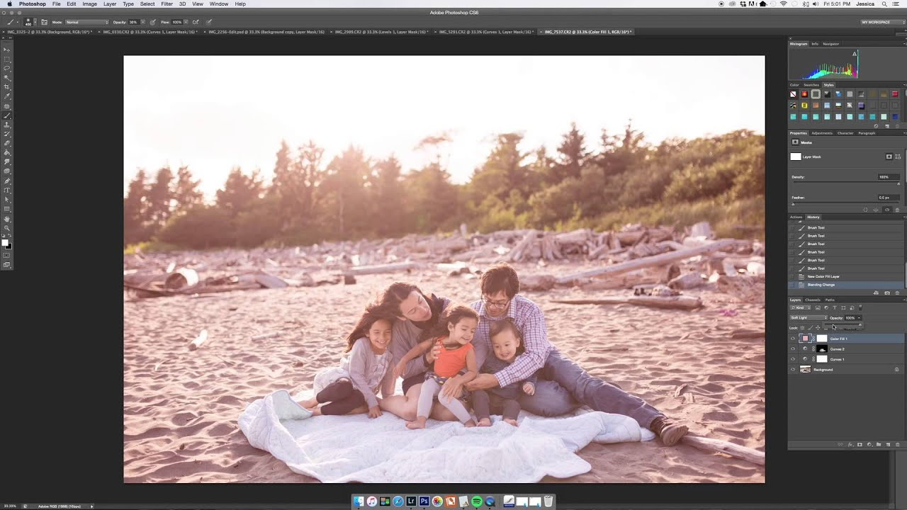Learn How To Edit Family Photos Like A Pro Youtube