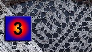 3  how to crochet bruges lace Как вязать брюггское кружево крючком