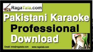 Zara chehra to dikhao Pakistani Karaoke - Zohaib Hassan