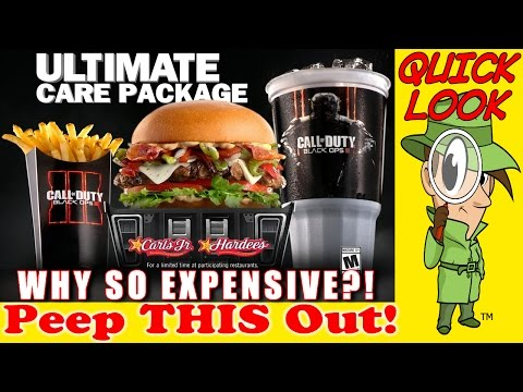 Carl's Jr.® | Hardee's® Ultimate Care Package! Why So Expensive?! Peep THIS Out!