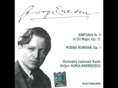 George Enescu: Poema Română, op. 1 - Orchestra Națională și Corul Radio