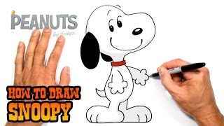 How to Draw Snoopy | Peanuts