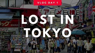 Tokyo, Japan Vlog Day 1: WE'RE LOST AND CAN'T FIND OUR AIRBNB!!